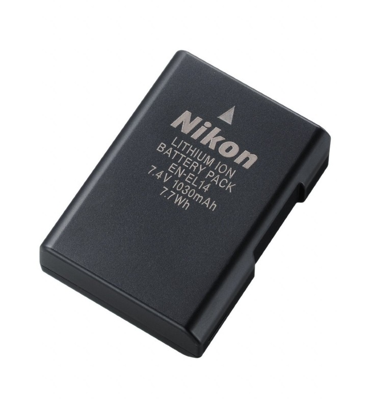 Nikon EN-EL14 Battery for Nikon D3100, D3200, D5100, P7000, P7700