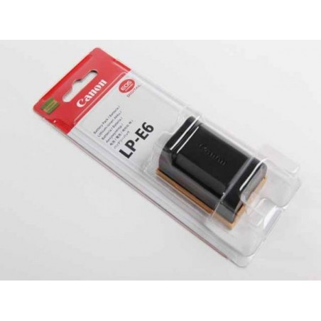 Original Canon LP-E6 Battery for Canon 5D Mark II, 5D Mark III, 60D, 70D, 6D, 7D