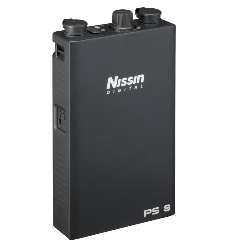 Nissin Power Pack PS 8 for Nikon Digital SLR Cameras, 320V DC Output Voltage, 3 Level Output Power Control