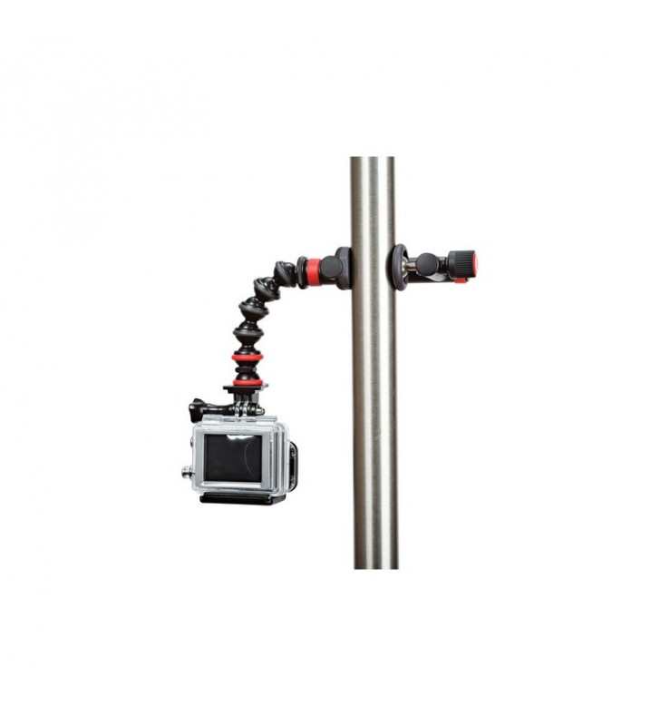 JOBY ACTION CLAMP & GORILLAPOD ARM (BLACK/RED) WITH GOPRO MOUNT