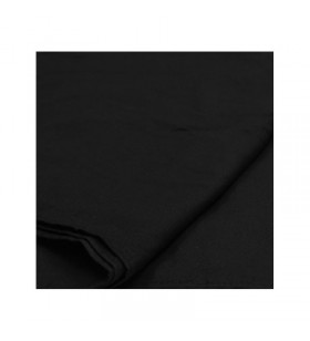 BLACK SEAMLESS PHOTOGRAPHY BACKDROP MUSLIN (3X6M)
