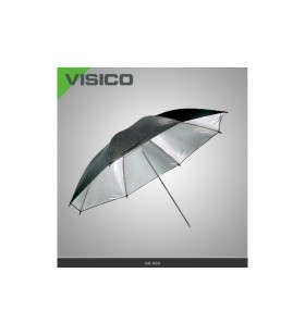 BLACK SILVER UMBRELLA REFLECTOR 85CM