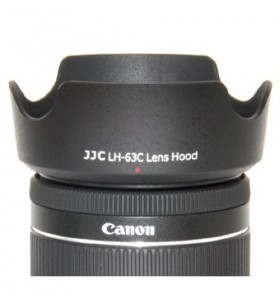 JJC LH-63C Lens Hood Shade For Canon EF-S 18-55mm f/3.5-5.6 IS STM Lens Replaces Canon EW-63C