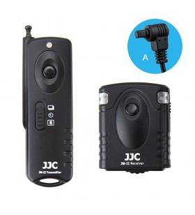 JJC JM-A(II) Wireless Shutter Release For Canon EOS 1DC 6D 1DX 1D 7D 50D 5D Mark II III IV 1D Mark II N III 30D 20D 20Da 10D