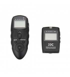 JJC WT-868 Wireless Timer Remote For Canon/Nikon/Fujifilm/Olympus/Panasonic/Sony Digital Camera