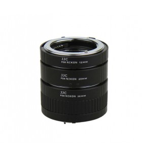 JJC AET-NS Automatic Extension Tube for Nikon F-mount 12mm 20mm 36mm Camera Lens