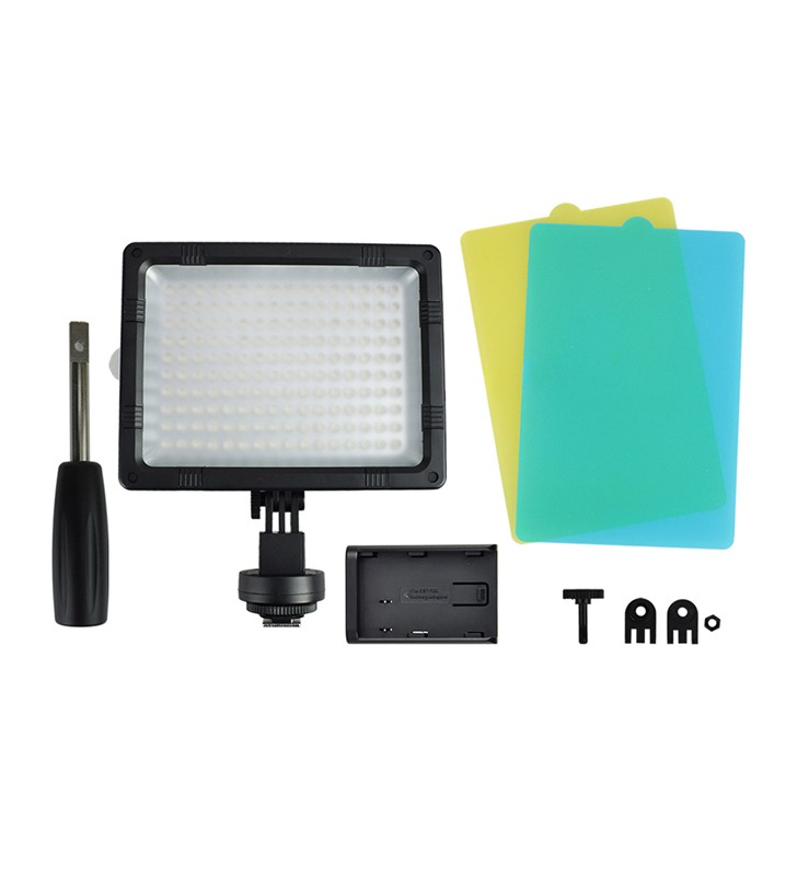 JJC LED-160 160x LED Video Light for camera camcorder video shooting w/ Diffuser