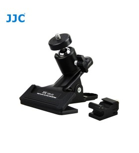 JJC CBH-01 Metal Multi-Function Clip Clamp With Ball Head for DSLR Camera Flash