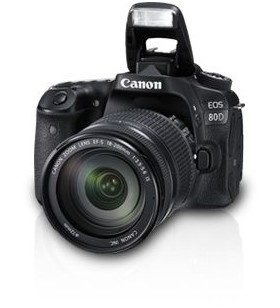 Canon EOS 80D Lens Kit - 24.2 MP, SLR Camera, 18 - 200mm IS