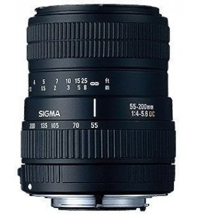 Sigma 55-200mm f/4-5.6 DC Telephoto Zoom